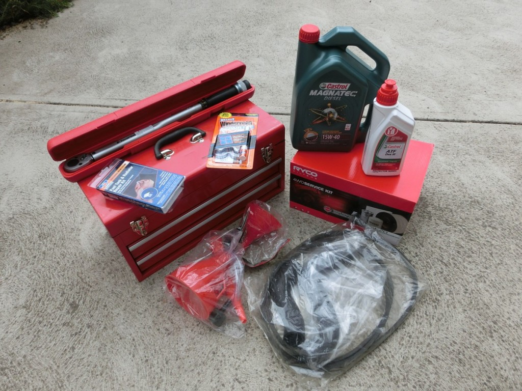 Tools & spare parts