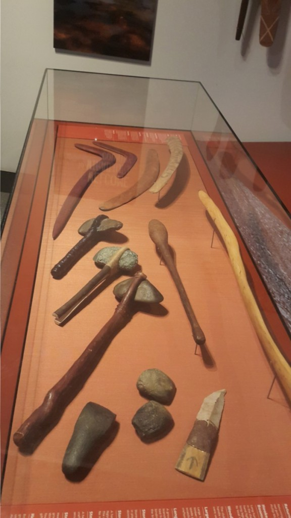 Traditional Aborigines tools.